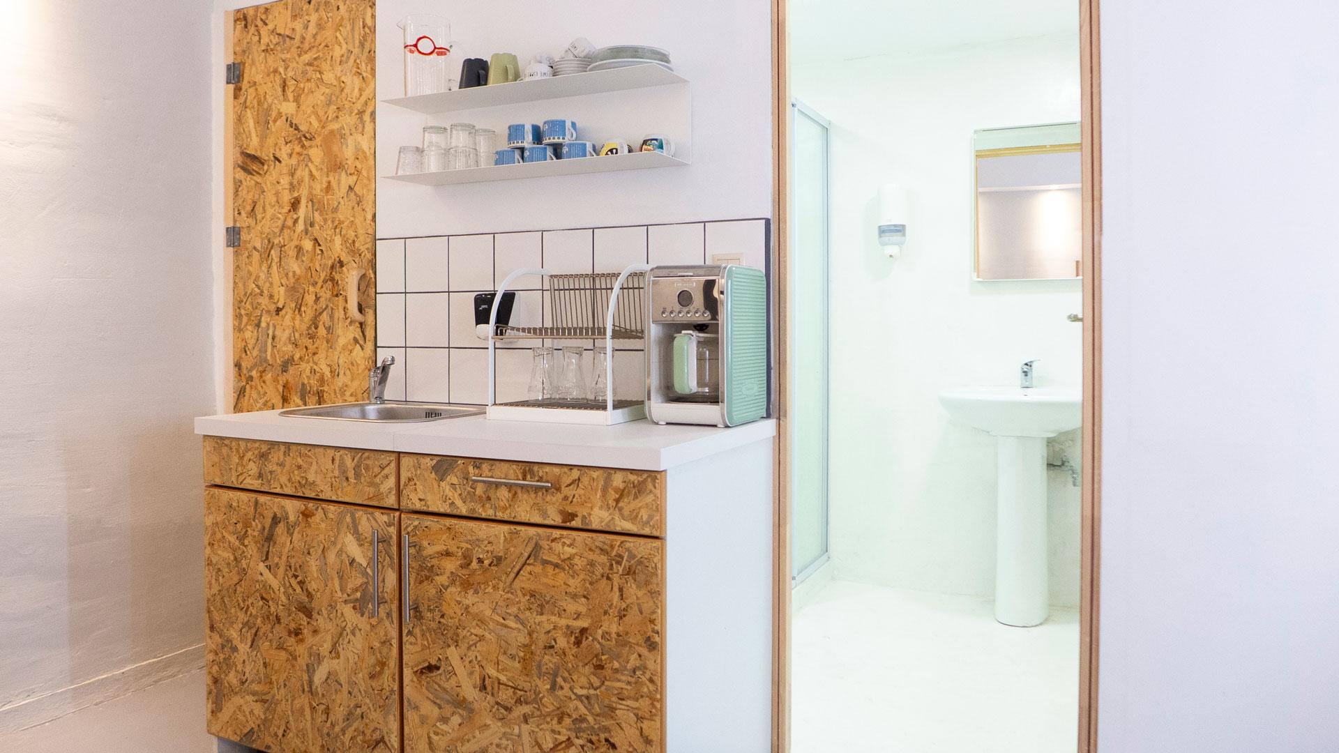Κουζίνα και μπάνιο